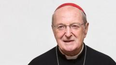 Porträt von Kardinal Joachim Meisner, fotografiert am 10.12.13 im Erzbischöflichen Haus.