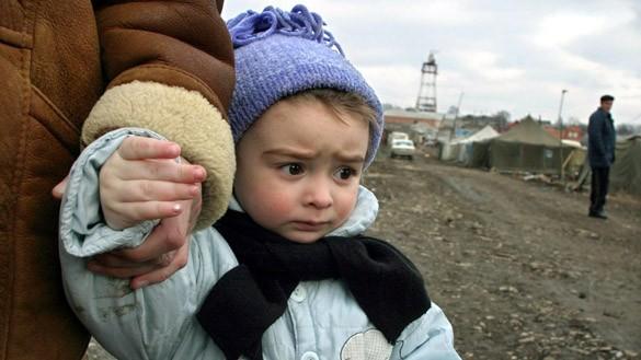 Tschetschenische Flüchtlinge in Russland