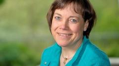 Annette Kurschus, Präses der Evangelischen Kirche von Westfalen,  Foto vom 01.05.2015.