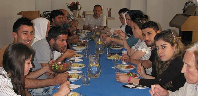 Offener Mittagstisch in der Auslandsgemeinde