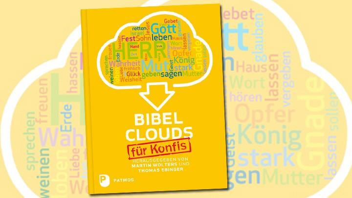 Buchcover Bibelclouds für Konfis