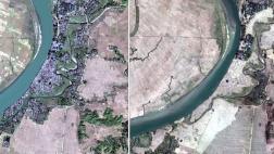 Rohingya Dörfer und Weiler von den Behörden ausradiert