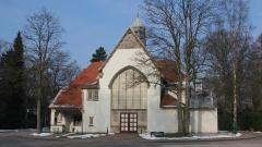 Die Kapelle 6 wurde 1905 nach Plänen von Wilhelm Cordes und Albert Erbe im Heimatstil errichtet. Sie umfasst 60 Sitzplätze.