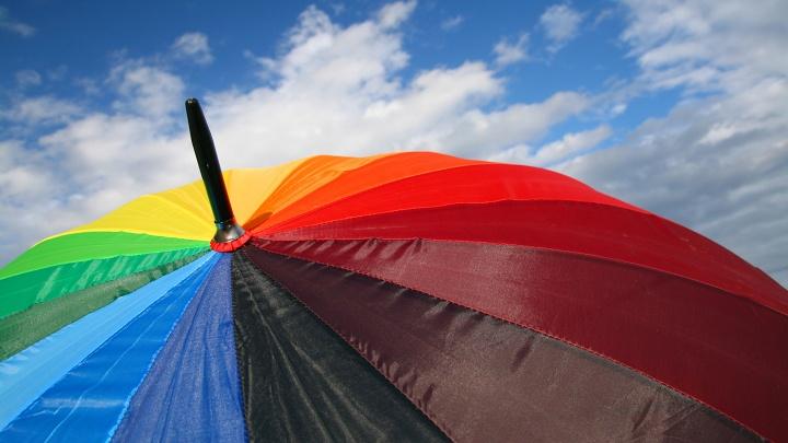 Regenbogenschirm - Homosexualtiät