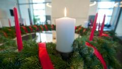 Wichern-Adventskranz leuchtet im Bundestag