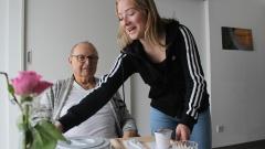 Georg Rustler und die 16-jährige Luisa