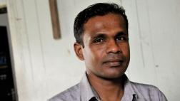 Pastor Dinesh in seiner Gemeinde in Kandy.