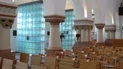 """""""Die Himmelsleiter"""" - Kolumbarium in der Herz-Jesu-Kirche in Hannover.    Foto: Kollena/kolumbarium-hannover.de"""