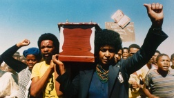 Veteranin des Kampfes gegen die Apartheid