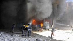 Luftangriffe in Ghuta