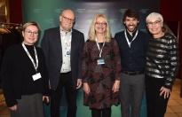 INTERFILM-Jury Lübeck 2019, mit Linde Fröhlich