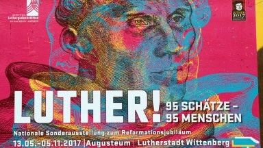 Schüler als 150.000. Besucher in Luther-Ausstellung begrüßt