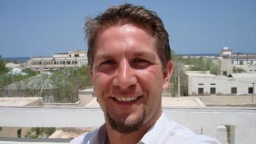 Daniel Zaspel, Mitglied bei Tierärzte ohne Grenzen.