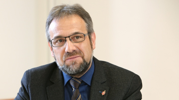 Der Bischof der Evangelisch-methodistischen Kirche, Pastor Harald Rückert