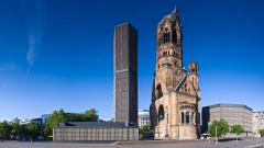 Kaiser-Wilhelm-Gedächtnis-Kirche am Breitscheidplatz.