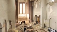Forschungsarbeiten in der Johanniskirche in Mainz