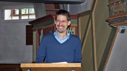Johannes Misterek (36) wurde im Juli 2014 Pfarrer der Massenheimer Gemeinde.