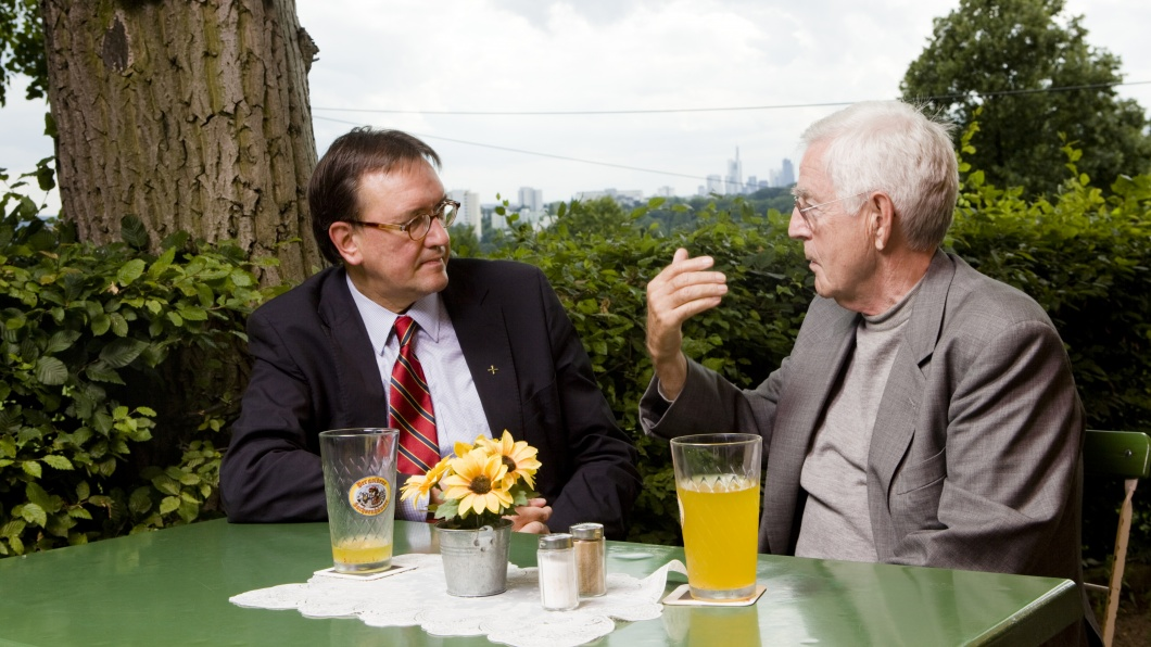 Prof. Martin Hein, Bischof und Albert Speer, Architekt