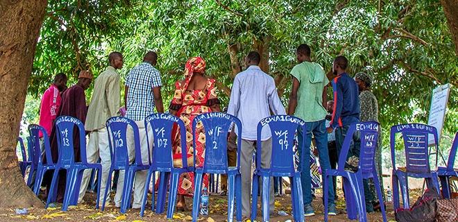Workshop östlich von Abuja
