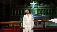 Ben Becker als Judas Ischariot im Berliner Dom