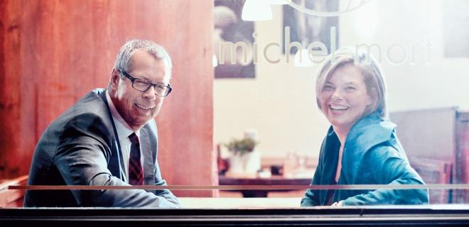 Julia Klöckner im Gespräch mit Reinhold Robbe über Familie, Adoption und homosexuelle Paare
