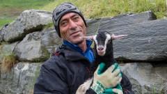 Ali Celik arbeitet als Ziegenhirt im Rahmen des Gaissaprojekts im Schweizer Kanton Graubünden.