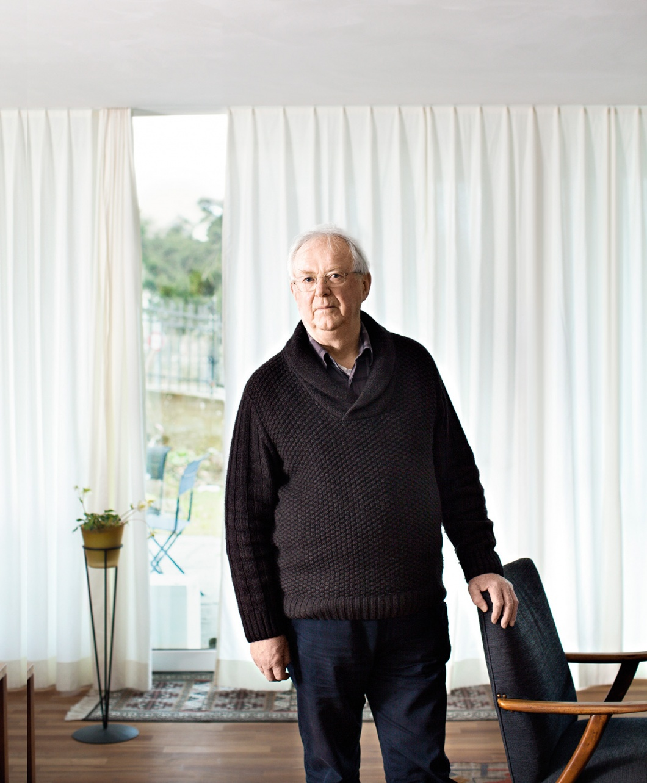 Fulbert Steffensky, Theologe, in seiner Wohnung in Luzern fotografiert.