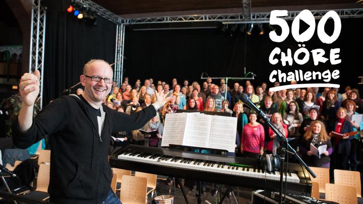 Dieter Falk lädt ein zum Gewinnspiel um einen Workshop mit deinem Chor.