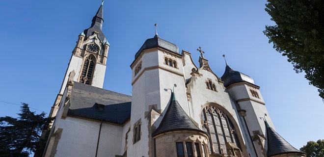 Die Friedenskirche in Heidelberg
