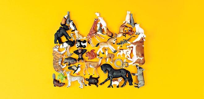 Krone aus Tieren