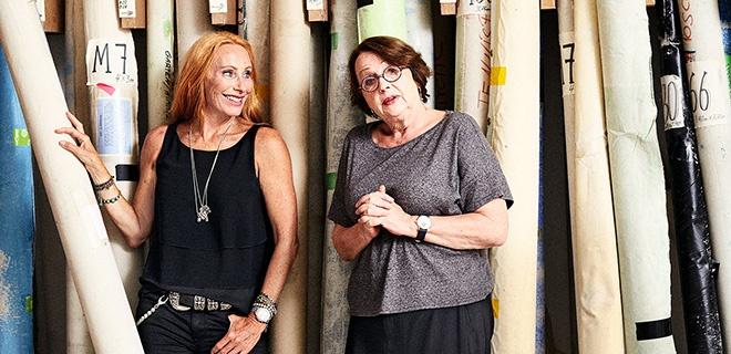 Andrea Sawatzki und Katja Lange-Müller
