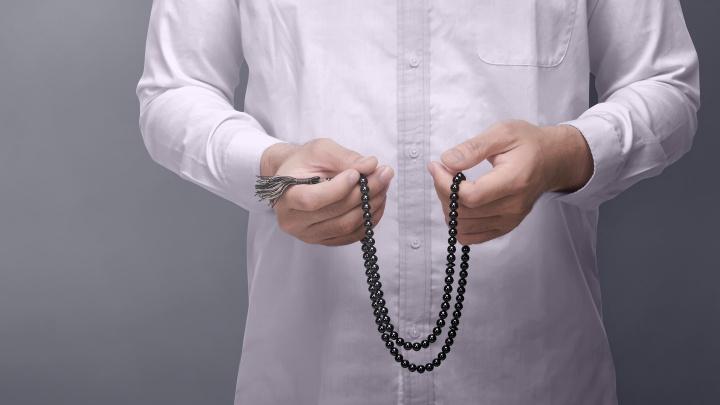 Muslime im Gebet
