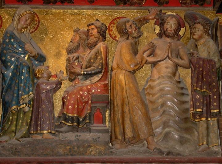 Taufe Jesu, Notre Dame Paris