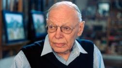 Porträt des Malers in Graphikers Werner Tübke im August 2000.