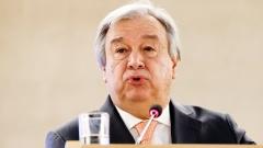UN-Generalsekretär Antonio Guterres betonte, dass die Waffenruhe auch wirklich genutzt werden müsse, um Menschen zu helfen.