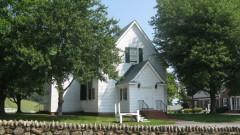 Die Hebron Church im Madison County/Virginia.