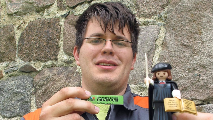 Luthers Reise mit Geo-Caching