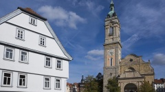 Blick auf die St. Georgenkirche in Eisenach