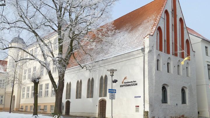 Aussenansicht des Krippenmuseums in Güstrow