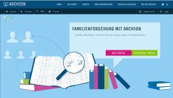 Das Kirchbuchportal der evangelischen Kirche ist nun online unter www.archion.de.