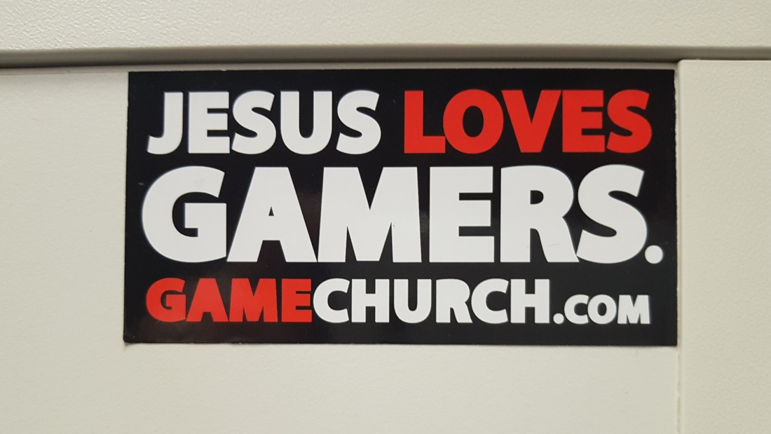 Jesus loves Gamers