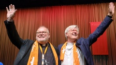 Heinrich Bedford-Strohm und der Münchner Erzbischof Reinhard Marx