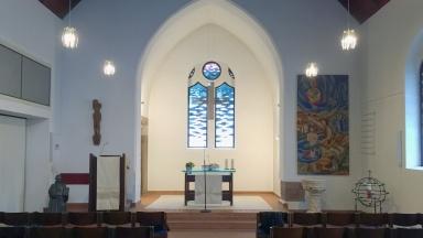 """""""Radiokirche"""" aus Lebach"""