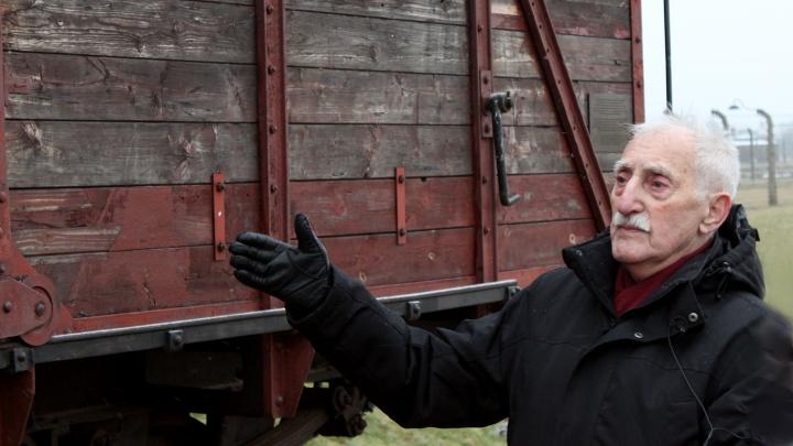 Leon Weintraub überlebte das Konzentrationslager Auschwitz-Birkenau