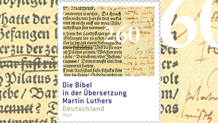Martin Luther Sonderbriefmarke