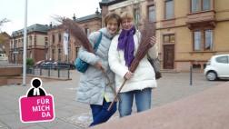 Anja Baumgart-Pietsch (rechts) mit ihrer Freundin Tina