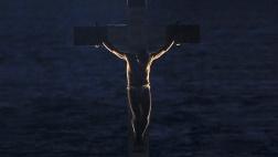 Die Kreuzigungsszene