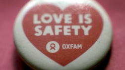 Ein Oxfam-Button