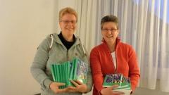 Nicole Warning und Ineke Lautenbach (v.l.).