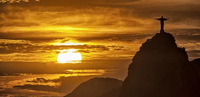 Brasilien Rio Christus Staue auf dem Corcovado rio photos de